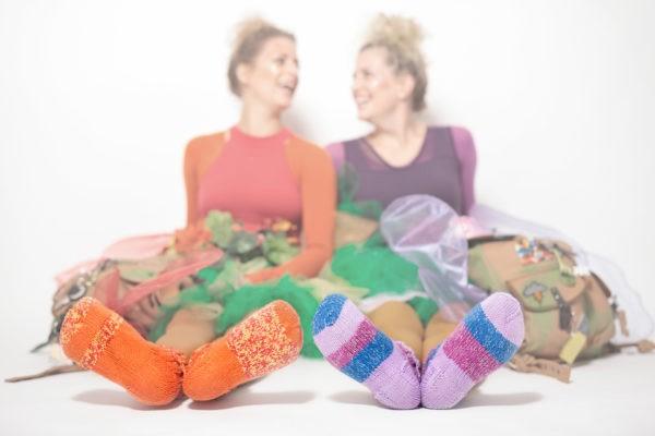 aufTakt Kultur Kinderprogramm Bergfee DoReMi FaSoLa Tastenpilotin Socken